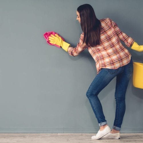 Washing Your Painted Walls   Blog   The Painting Company