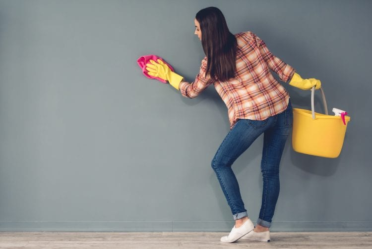 Washing Your Painted Walls | Blog | The Painting Company