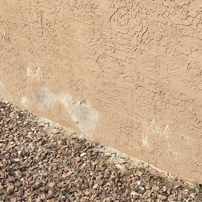 4 peeling paint stucco poor