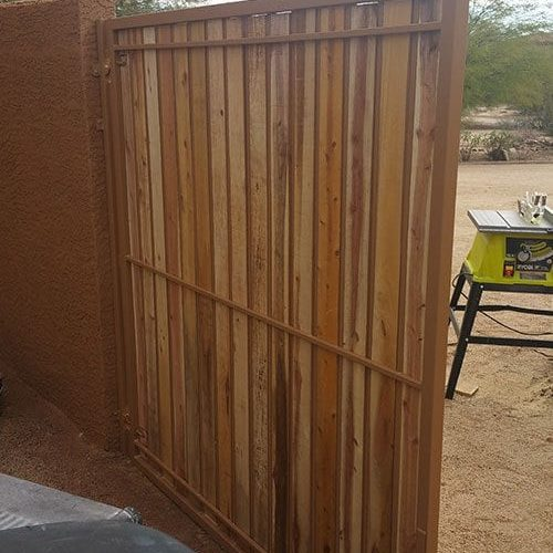 Fence & Gate Painting | Painting Project Gallery | Exterior Painting | Residential Painting Services | Las Vegas Painting Company