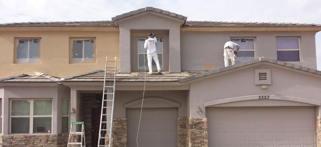 Painting Services for Your Home | Exterior Painting Process | Residential Painting Services | Las Vegas Painting Company