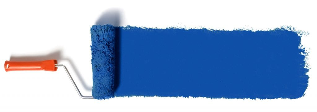Blue Paint Roller | Current Painting Specials | Residential & Commercial Painting Services | Las Vegas Painting Company