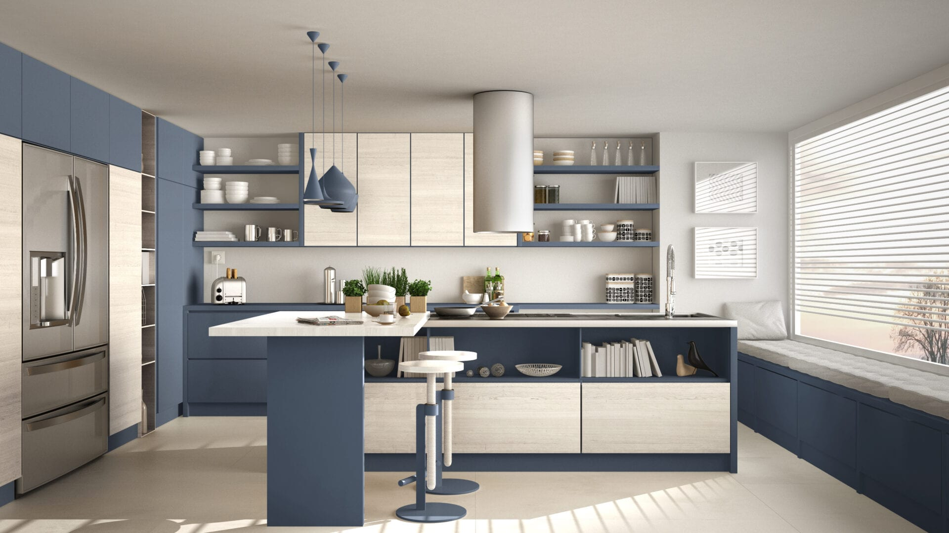 Multi-tone Kitchen