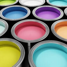 Different Kinds of Paint in Cans